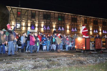 Weihnachten in der alten Ziegelei in Klein Kölzig am 15.12.2018