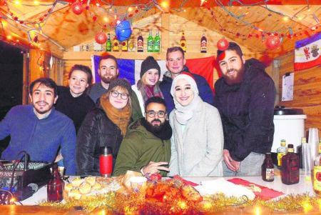 Kulturelle Vielfalt auf dem Weihnachtscampus 2018 in Senftenberg