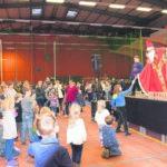 Nikolausfest in der Niederlausitzhalle Senftenberg am 6.12.18