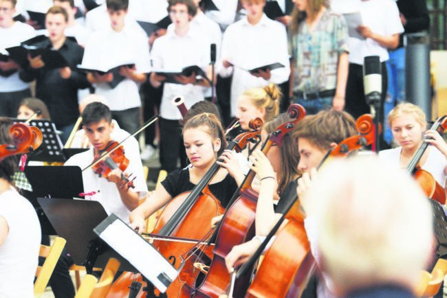 Adventskonzert der Freien Waldorfschule Cottbus am 12.12.18