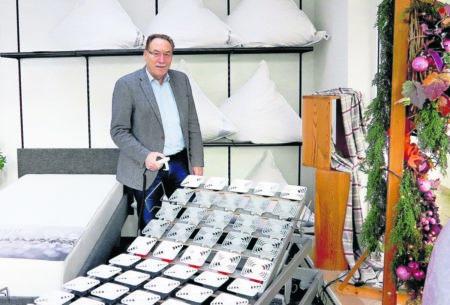 Bettenhaus feiert Geschäftsjubiläum am 8. Dezember 2018