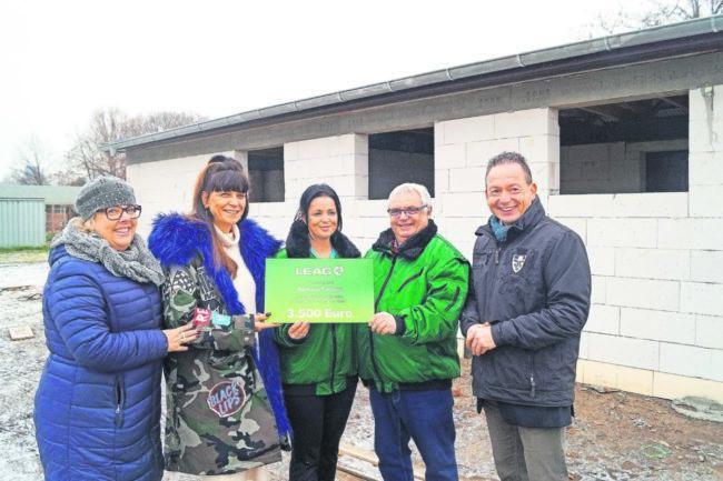 Mein Sonntag im Revier: LEAGspendet für das Tierheim Cottbus