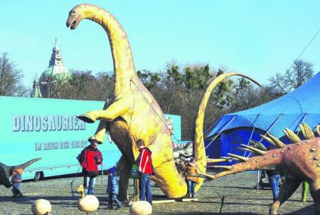 Dinosaurier in Cottbus vom 26.12. bis 30.12.2018
