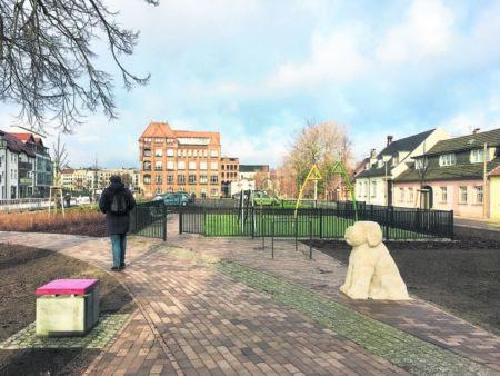 Ostrower Platz in Cottbus ist fertig