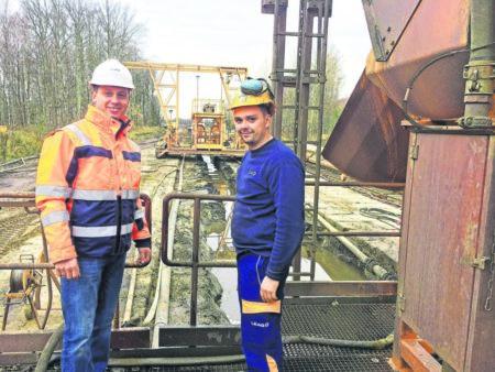 Mein Sonntag im Revier: Dichtwand am Tagebau Welzow-Süd erreicht Dezember 2018 Etappenziel
