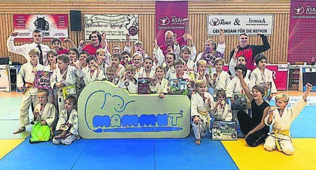 Judo: Spremberger Judo-Nachwuchs holt Mammut-Cup