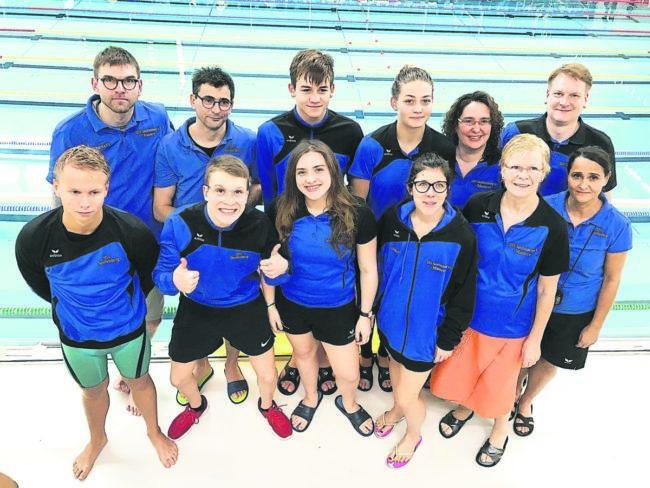 Schwimmen: Senftenberger Schwimmteam räumt kräftig ab