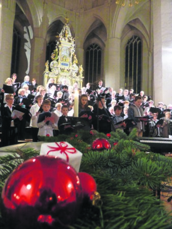 Weihnachtskonzert in der Oberkirche Cottbus am 20.12.2018