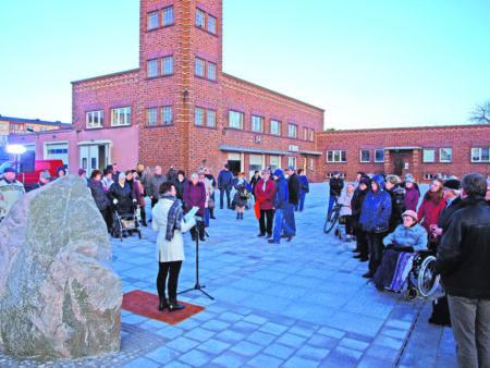 Einweihung des umgestalteten Welzower Marktplatzes am 5.12.18