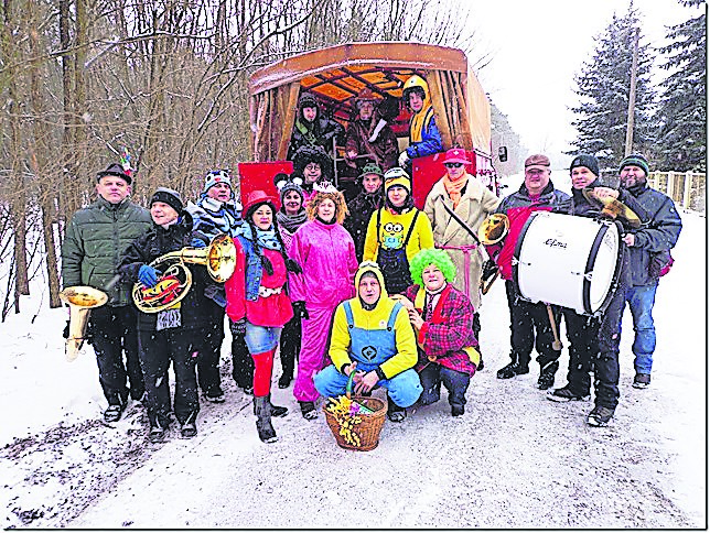 Zampern in Schorbus am 5. Januar 2019