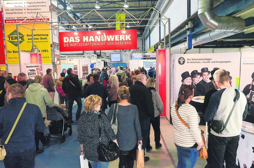 Cottbus: Handwerk ist Besuchermagnet