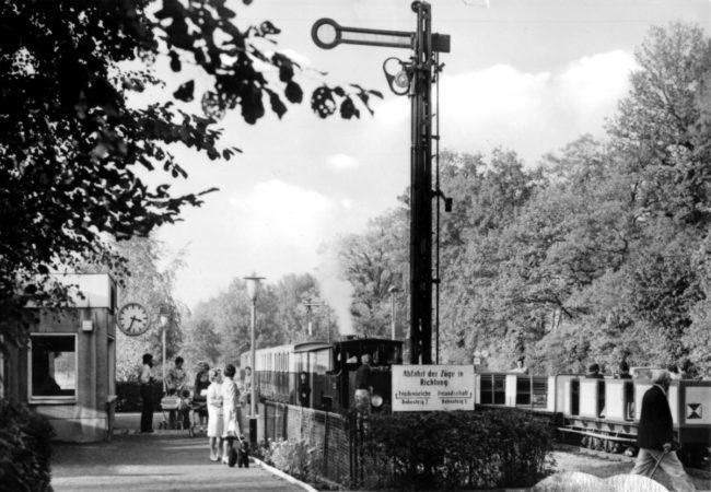 Damals war's Niederlausitz: Mit 65 noch topfit auf 600-mm-Gleis