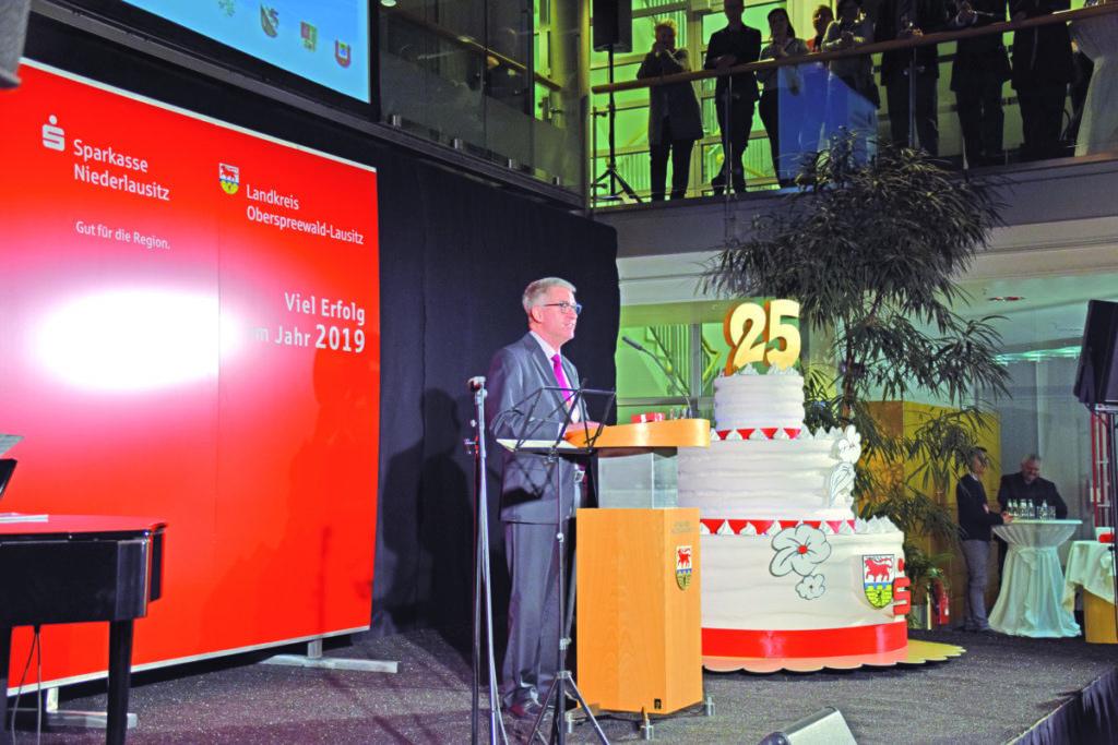 Neujahrsempfang 2019 des Landkreises OSL und der Sparkasse Niederlausitz