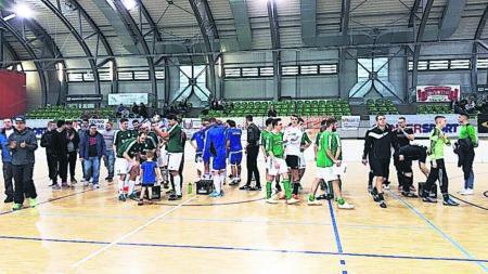Hallenfußballturnier in der Lausitzarena Cottbus am 12. und 13.1.2019