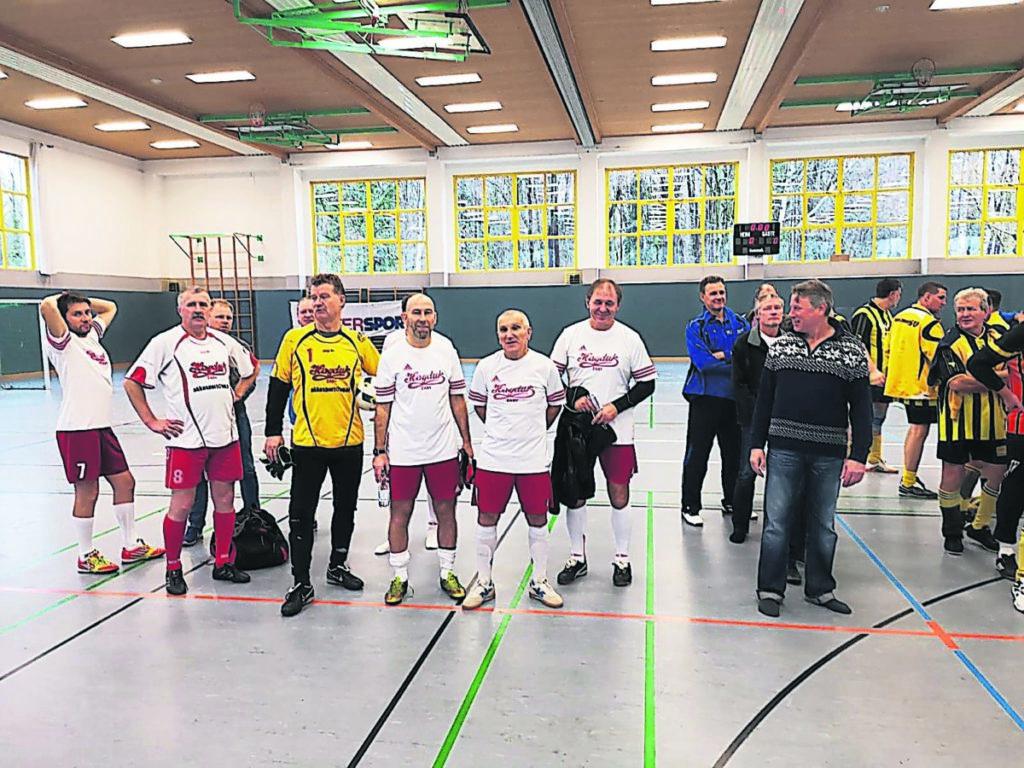 Hallenfußball Ü50 am 5. Januar 2019 in Kolkwitz