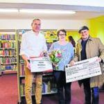 Stadt Senftenberg und KWG unterstützen Schulbibliothek