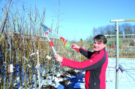 Gartenschule für Profis und Neulinge in Groß Gaglow am 23.2.19