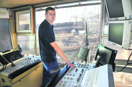 Mein Sonntag in Revier: Pauls Traumjob auf der weltgrößten Maschine