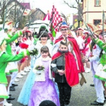 Fastnacht trifft Karneval in Straupitz