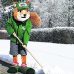 Vorsicht bei Schnee und Eis