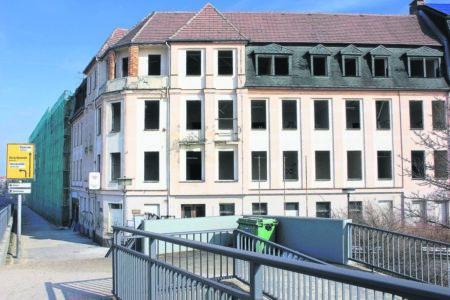 Damals war's Niederlausitz: Hotel, Landratsamt, dann Schulamt