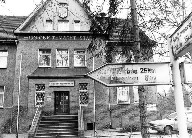 Damals war's alte Niederlausitz: Die frischen Brötchen: unvergessen!