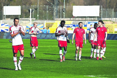 FC Energie Cottbus gegen Tabellenachten am 13. April 2019