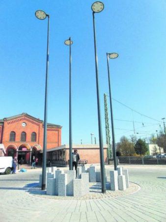 Gubener Bahnhofsvorplatz eingeweiht