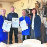 Holzbildhauer Fromelius feiern die 50
