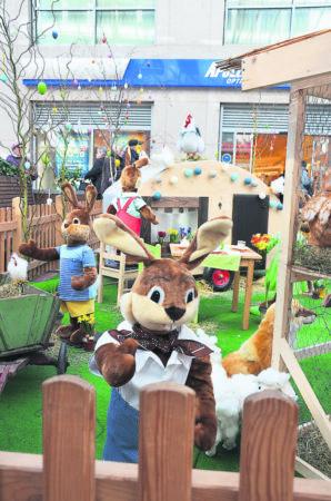 Frühlingsfest lockt zum Ostereinkauf