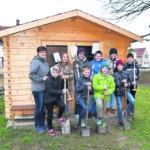 Sparkasse Niederlausitz unterstützt Schulgartenprojekt