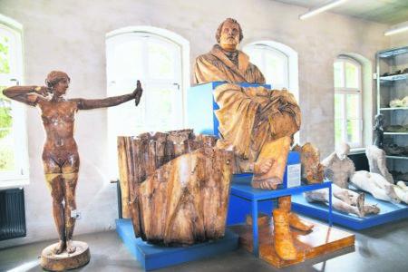 Neue Technik auch im Kunstgussmuseum Lauchhammer
