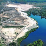 Baustellenbesuch am Sedlitzer See