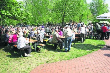 Weißagker treffen sich im Mai 2019 in Gosda