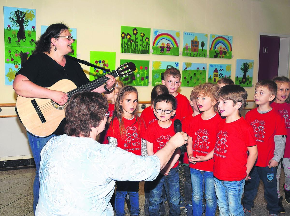 Große Bühne für kleine Künstler im Gubener Wilke-Stift