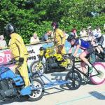 Radsport-Wochenende begeistert Forst