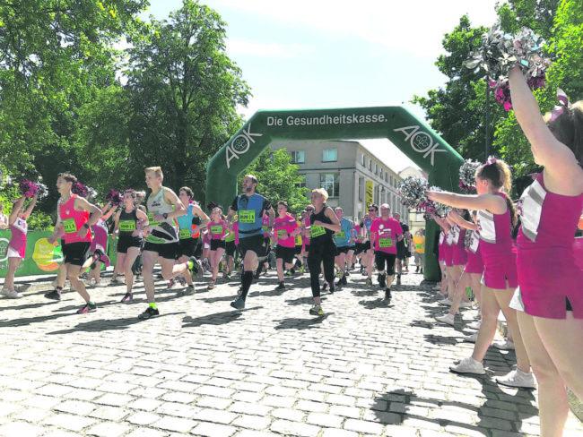 Sportlich in den Mai beim AOK City Run & Bike in Cottbus