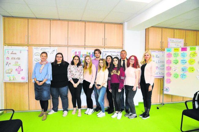Bosnische Schüler zu Gast in der Lausitz