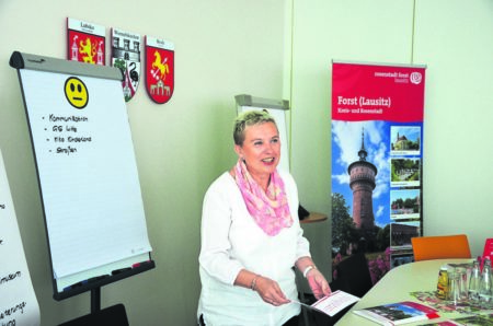 Forster Stadtchefin Simone Taubenek: