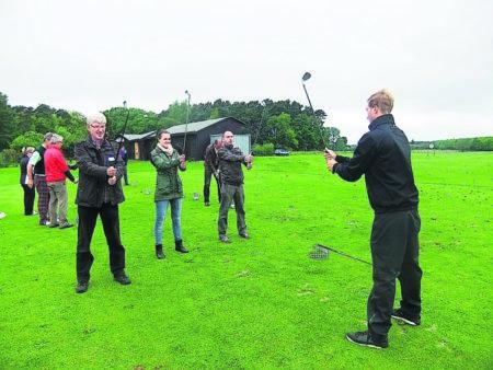 Golf-Sport: Großer Sport mit dem kleinen Ball