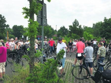Geführte Radwanderung des Cottbuser Ostsee Sportvereins