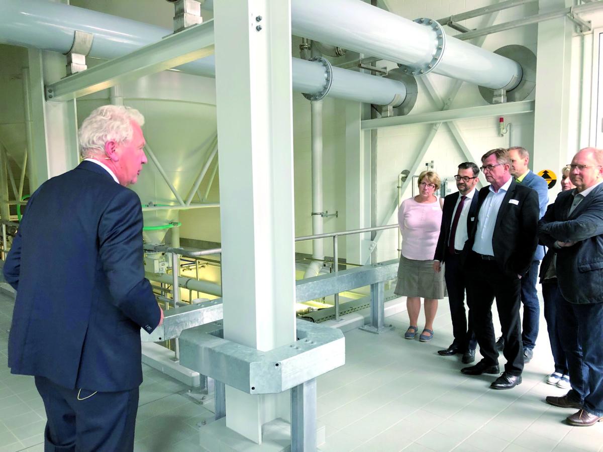 Erweiterung des Wasserwerkes Tettau fertiggestellt