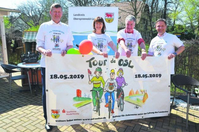 Radeln mit dem Landrat bei der Tour de OSL