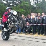 Motorradaction und Livemusik im Waldbad Boblitz