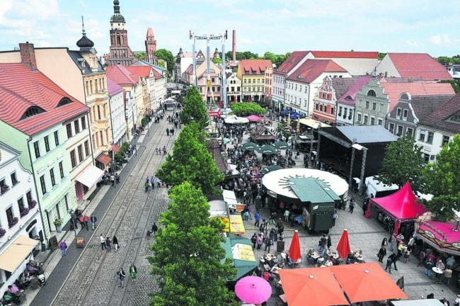 Cottbus feiert 28. Stadtfest
