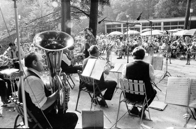 Damals war's Niederlausitz: Blasmusik im Tierpark