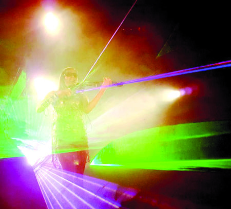 Violinen & Laser-Show im Spreewald