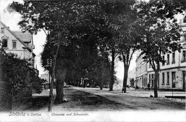 Damals war's Niederlausitz: ...und links in die Lyssenkowstraße?