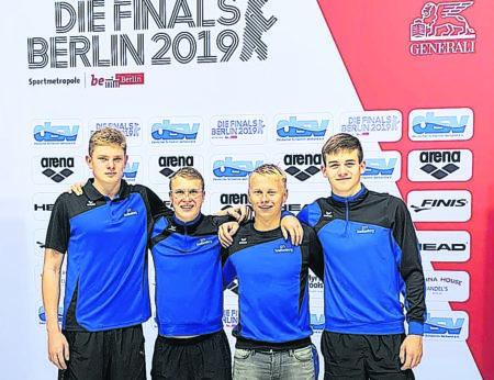 Senftenberger Schwimmer erfolgreich in Berlin
