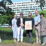 Qualitätssiegel für Senftenberger KWG-Hochhaus